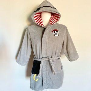 Nautica Terry Cloth Piirate Bath Beach Cotton Robe